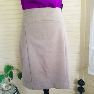 The Limited Pencil Neutral Ground Skirt Size 16